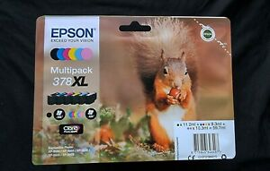 Epson 378XL T3798 Genuine Multipack Ink Cartridges