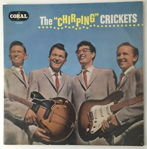 """THE CRICKETS - 1963 - """"THE CHIRPING CRICKETS"""" - Coral - LVA9081 - *EX/VG+*"""