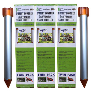 Enviro Bug Control - Battery Powered Snake Repeller - Large House Block - 6 Pack