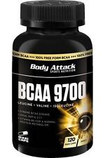 (65,72 € / kg) Body Attack BCAA 9700 - 120 Caps
