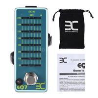 ENO EX EQ7 Guitar Equalizer Effect Pedal 7-Band EQ True Bypass+Free Ship W2R6