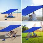 10x10ft Sunshade Beach Tent Sun Shade Canopy UV Protection Tent Shelter Tarp