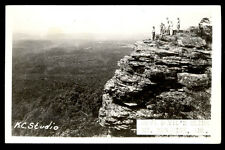 1949 RPPC ABOVE DEVIL'S SLIDE MOUNTAIN * MAGAZINE, AR  ARK PHOTO POSTCARD PC7538