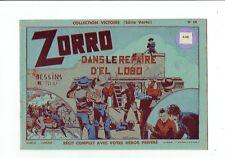 Collection Victoire Série Verte n°15 – Zorro -  dessins de Tori – NEUF