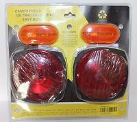 Easy Mount Trailer Light Kit 12V Hook-up Camco Tools No. 65141