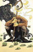 🚨🔥 THE SHEPHERD #1 RYAN BROWNE Glow In Dark Virgin Variant Ltd 250 COA NM