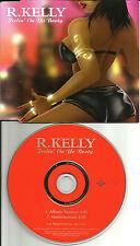 R. KELLY Feelin On Yo Booty w/ INSTRUMENTAL EUROPE Made PROMO DJ CD Single 2000
