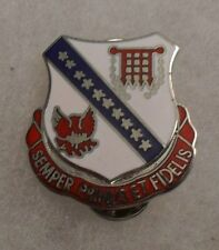 1950'S /60'S 703RD AAA BN /262 ENG BN DI/DUI MARKED S38 THE SUPPLY ROOM