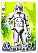 Star Wars Force Attax  Clone Trooper #032
