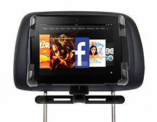 Vehicle Holder & Mount For Amazon Kindle Fire & 2 With Strong Headrest Support