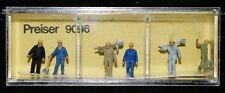 Preiser, Vintage, NiB, Item # 9096 N scale Walking Track Workers *
