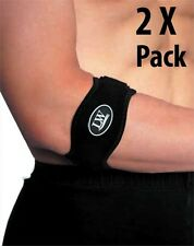 Two LW Elbow Support Strap Wrap band Brace Tennis Golfer's Elbow One Size