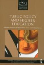 Public Policy and Higher Education Barnett, Moronski-Chapman, 2012 Paperback
