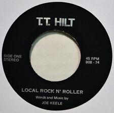 Joe Keele Local Rock N Roller Obscure Label TT HILT 45 EX+ Singer Songwriter