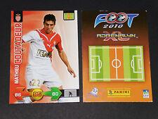 MATHIEU COUTADEUR AS MONACO LOUIS II PANINI FOOTBALL ADRENALYN CARD 2009-2010