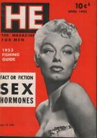 HE Digest April 1953 Lili St Cyr Cheesecake Pin Up 070819AME