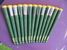 Lot Set 13 New Lamkin UTX cord green yellow limited edition masters grips. $60x2