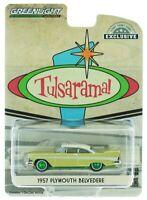 "1957 Plymouth Belvedere ""Tulsarama"" Underground Vault,Scale 1:64 by Greenlight"