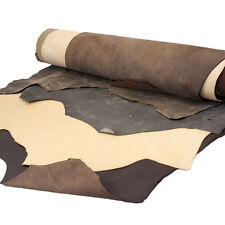 Springfield Leather Co. $100 Earth Tone Calfskin Cowhide Leather Bundle 5 Sides