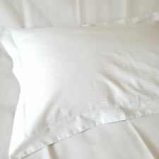 Quality Cotton 100%, Percale Large Mock Oxford Pillowcase White, Large Size