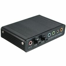 External USB 5.1 3D Audio Sound Card Virtual 7.1 Channel Converter Adapter  R6B6