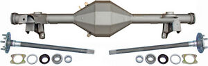 """NEW CURRIE 82-92 F-BODY REAR END W/ TORINO FLANGED AXLES,CAMARO FIREBIRD,9"""" FORD"""