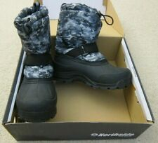 Northside Frosty White/Camo Snow Boots Size 1 - Gently worn