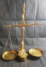 Dollhouse Brass Scale w Weights Reutter 1.636//5 Miniature