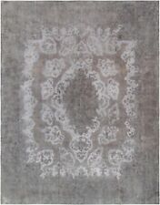"Pasargad Vintage Overdye Collection Hand-Knotted Lamb's Wool Rug-9'11"" X 12' 11"""