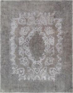 """Pasargad Vintage Overdye Collection Hand-Knotted Lamb's Wool Rug-9'11"""" X 12' 11"""""""
