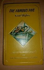 Vintage The Famous Five By Enid Blyton Hardback Book:Go To demon's Rock/Have A M