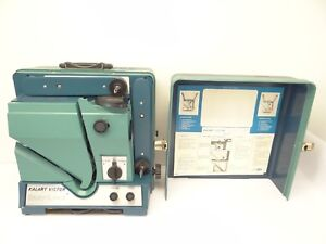 Used Kalart Victor Easy-Load Blue Green 90-25 Movie 16mm Film Projector Parts