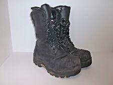 "Dakota Men's 10"" Composite Toe Composite Plate Oil Transitional Boots Black 8 W"