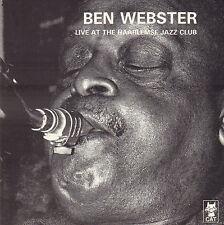 BEN WEBSTER – LIVE AT THE HAARLEMSE JAZZCLUB (JAZZ CD REISSUE HOLLAND)