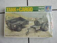 Italeri   Modellbausatz - Tank+ Cargo -1:35 scale - im Karton -ovp.