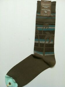 TOMMY BAHAMA MENS NEW OLIVE COTTON BLEND DRESS SOCKS PALM DOWN ONE SIZE
