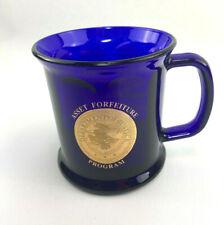 Department Of Justice Asset Forfeiture Program Cobalt Blue Coffee Mug Made In US