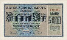 Ro.bay06 Bavaria 5.000 Mark 1922