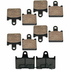 Front Rear Brake Pads For Kawasaki ZG1400 Concours 14 2008 2009