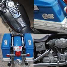 Medicine Wheel stick on insert for Harley-Davidson. MWSO-1