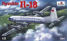1:72 Amodel #72011 Ilyushin IL-18 Soviet Civil Airliner USSR UdSSR NEU / NEW !!!