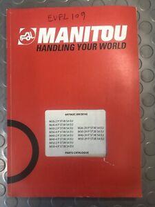 MANITOU PARTS CATALOGUE M26-2/M26-4/M30-2/M30-4/M40-2/M40-4/M50-2/M50-4/M26-2H