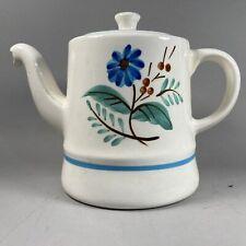 "Stangl Handpainted Pottery ""Bachelors Button"" Teapot"