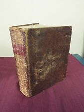 1816 KJV bible - First Stereotyped Quarto Edition