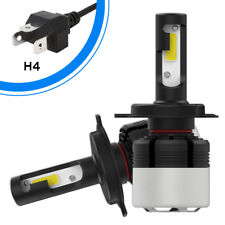 2Pcs NIGHTEYE H4 LED 1200W 180000LM 6500K Headlight Car Bulb Conversion Kit Lamp
