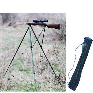 treppiede tripode cavalletto per carabina caccia di selezione regolabile ottica