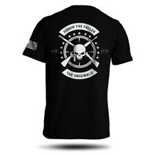 American Punisher Legend Honor The Fallen Military Men's T-Shirt