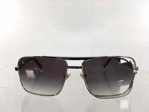 Louis Vuitton Silver Brown Attitude Damier Pattern Gradient Men's Sunglasses