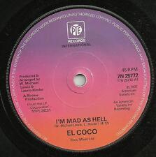 EL COCO - I'M MAD AS HELL/LOVE VACCINE - PYE 1976 - ORIGINAL 70s DISCO FUNK SOUL