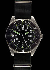 MWC 300m Water Resistant Stainless Steel Super Luminova Military Navigator Watch